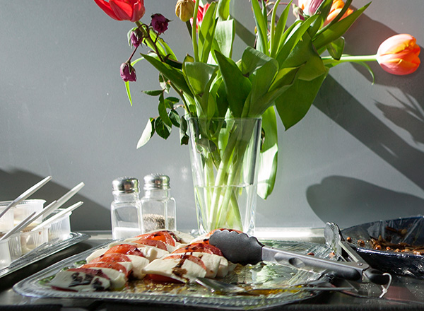 Catering mit ausschließlich frischen Produkten